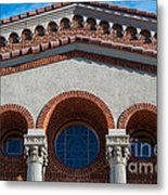 Greek Orthodox Church Arches Metal Print