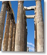 Greek Ruins Metal Print