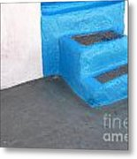 Greek Stairs Metal Print