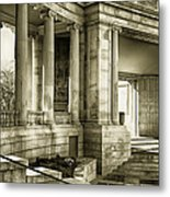 Greek Theatre 7 Golden Age Metal Print by Angelina Vick