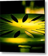 Green And Gold Metal Print by Christi Kraft