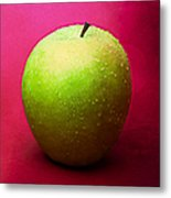 Green Apple Whole 1 Metal Print