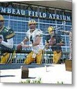 Green Bay Packers Lambeau Field Metal Print