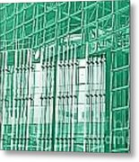 Green Business Metal Print