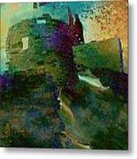 Green Castle Metal Print
