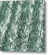 Green Cornfield Metal Print