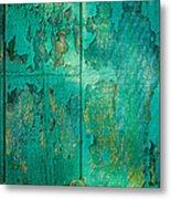 Green Door - Carmel By The Sea Metal Print