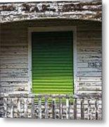 Green Door Galveston Tx  Metal Print