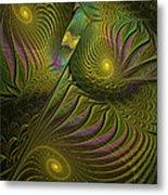 Green Envy Metal Print
