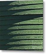Green Facade Metal Print