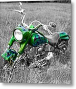 Green Fat Boy Metal Print