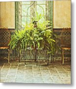 Green House Metal Print by Margie Hurwich