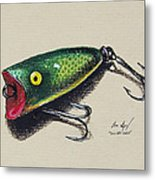 Green Lure Metal Print by Aaron Spong
