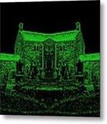 Green Manor Metal Print