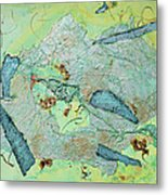 Green Of The Earth Plane Metal Print