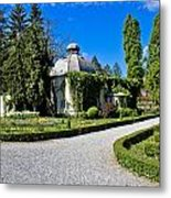 Green Park In Daruvar With Old Thremae Metal Print