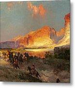 Green River Cliffs Wyoming Metal Print