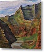 Green River Utah Metal Print by Lucy Deane