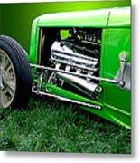 Green Rod Metal Print