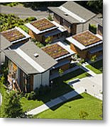 Green Roofs, Bastyr University, Kenmore Metal Print