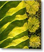 Green Silk 03 Metal Print