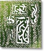 Green Simplicity Metal Print