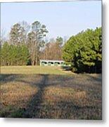 Green Stables - Lake Wheeler Road Metal Print