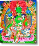Green Tara 11 Metal Print