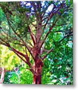 Green Tree Metal Print