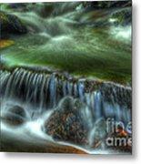 Green Waters Metal Print