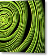 Green Wellness Metal Print
