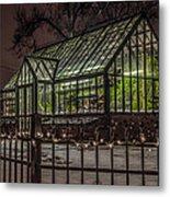 Greenhouse In Winter #2 Metal Print