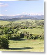 Greenland Ranch Metal Print