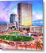 Greensboro Center City Park II Metal Print