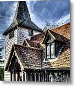 Greensted Church Ongar Metal Print