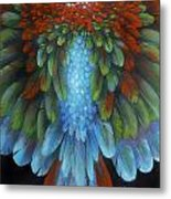 Greenwing Metal Print