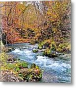 Greer Spring In Fall Metal Print