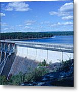 Greers Ferry Dam Metal Print by Edward Hamilton