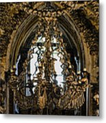 Greetings From Kutna Hora Metal Print
