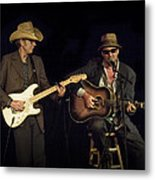 Greg Brown And Bo Ramsey In Concert Metal Print