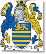 Gregory Coat Of Arms Irish Metal Print