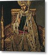 Gregory I The Great, Saint 540-604 Metal Print