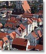 Greifswald Roofscape Pomerania Metal Print