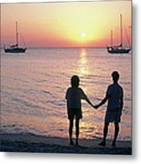 Grenada Sunset Metal Print