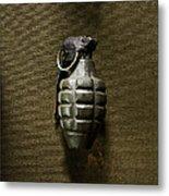 Grenade Metal Print