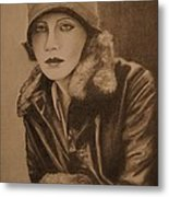 Greta Garbo Metal Print