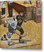 Gretzky And Gilmour 2 Metal Print