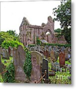 Grey Abbey Cemetery Metal Print