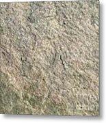 Grey Rock Texture Metal Print
