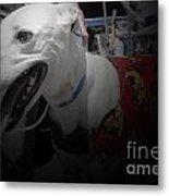 Greyhound Rescue 8 Metal Print by Jackie Bodnar